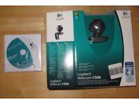Brand New Logitech C500 Webcam - 1.3 megapixel video - 5 megapixel camera