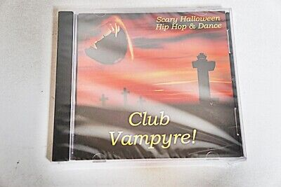 SCARY HALLOWEEN HIP HOP & DANCE - CLUB VAMPYRE! 2008 SEALED NEW-CD - Not Scary Halloween Music