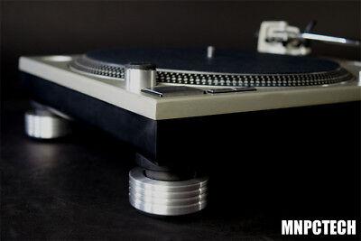 4 TECHNICS SL 1200 mk2 mk3 mk4 mk5 mk6 DJ ANTI VIBRATION Turntable FEET