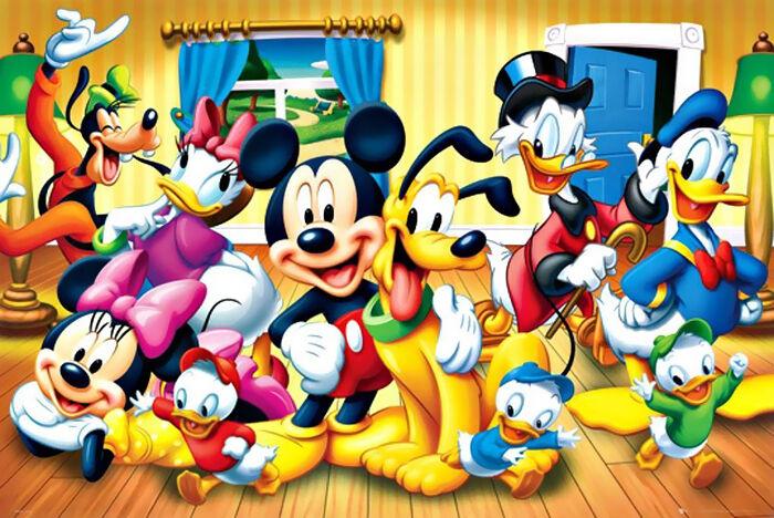 Micky Maus und die anderen Bewohner von Entenhausen