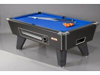 SUPREME WINNER POOL TABLE COIN OP 7 BY 4 IN STOCK