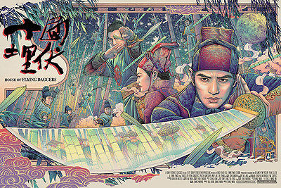 HOUSE OF THE FLYING DAGGERS VARIANT THE PURSUIT - ISE ANANPHADA posteR NOT MONDO