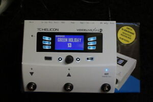 VOCAL GUITAR PROCESSOR TC HELICON VOICELIVE PLAY GTX