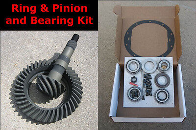 """CHEVY GM 8.5"""" 10-Bolt Gears 4.10 / 4.11 Ratio & Master Bearing / Install Kit NEW"""