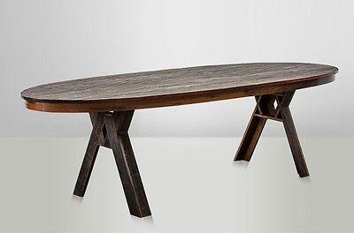 JOLIE, Holztisch massiv oval Größe: 275*96*H 77 cm