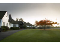 Bar Staff, Golf Club nr Woking & Guildford (Possible Live In)