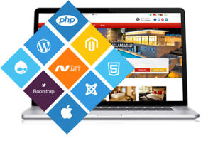 Get a professional website design to promote your business !!!