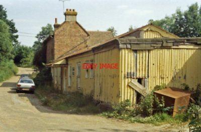 PHOTO  CRANBROOK RAILWAY STATION KENT REMAINS 1984 SE&CR PADDOCK WOOD - HAWKHURS