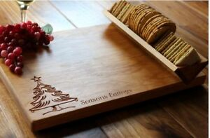 Black Cherry Cheeseboard Personalized
