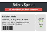 Britney Spears Ticket - Manchester Arena - sold out!
