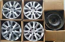 "Mazda BT-50    4 X 17"" Alloy  & 1 X 17"" Steel Rim Gosnells Gosnells Area Preview"