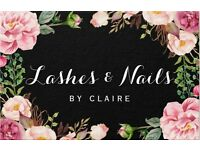 Individual Eyelash Extentions & Shellac Nails
