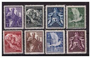 VATICANO-1938-POSTA-AEREA-SERIE-NUOVA