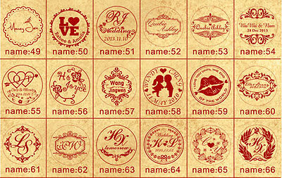 Custom Made Personalized Letter Picture Logo wedding Invitation Wax Seal Stamp