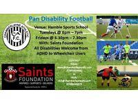 Pan disability football