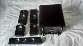 Samsung home cinema speaker set