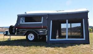 SEMI OFF ROAD CAMPER TRAILER PLUS ALL EXTRAS READY TO GO CAMPING!