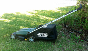 Yardworks Electric Compact Lawn Mower/Snow Blower also available
