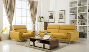 Hometown Furniture --- BRAND NEW FABRIC SOFA!