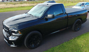 "2015 Dodge  Ram 1500 Black Express Hemi 22"" Viper"