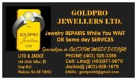 """local GOLDSMITH"""" jewelry repair or same day services"""""""