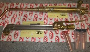 AIRCO WELDING & CUTTING TORCH SET ALL REBUILT BY EFCO