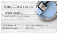 Worthy paint and plaster