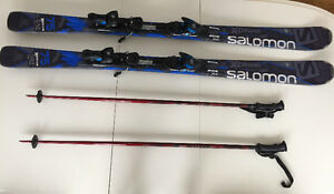 Downhill Skis and Poles For Sale