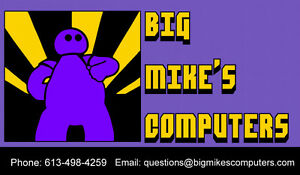 Big Mike's Computers - Computer Repair & Services in Brockville