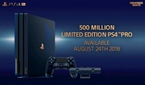 PS4 PRO 500 Limited Edition - $1300 ***SEALED***