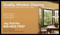Quality Window Cleaning