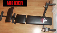 WEIDER Bench \¡/ Get in shape for winter!