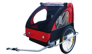 Black & red bike trailer (stolen, please help)