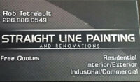 Straight Line Painting and Renovations