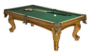 NEW AND USED POOL TABLES