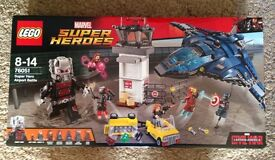 Lego Superheroes Airport Battle New