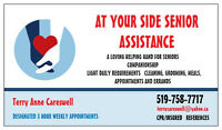 AT YOUR SIDE SENIOR ASSISTANCE