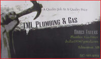 TML Plumbing & Gas Systems - Serving Edmonton & Area