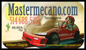 Reparation automobile garage mecanicien terrebonne