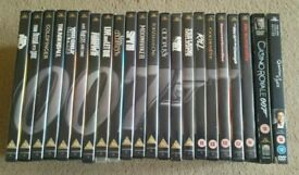 Special 007 Edition James Bond DVD Collection 22 Films and 240 page Art of Bond hardback book