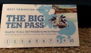 West Edmonton Mall -Ice Palace tickets