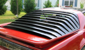 WANTED: REAR WINDOW LOUVERS