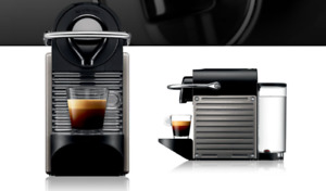 Nespresso Pixie Expresso Maker Orange
