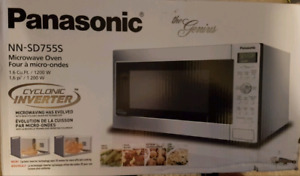 [FOR PARTS] Panasonic  NN-SD755S Microwave Oven