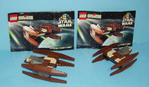 2 SETS LEGO STAR WARS no 7111, le DROID FIGHTER