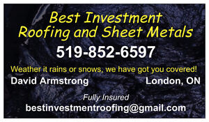 Roofing!  Roof replacement and roof repairs! London Ontario image 2