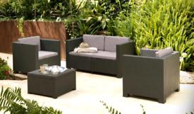 Garden/Patio/Balcony Furniture - Set Diva Confort graphito