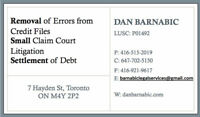 CREDIT REPAIR? SETTLEMENTS? FRAUD CHARGES? - Call Dan