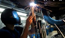 Vehicle welding mot/psv cars vans trucks