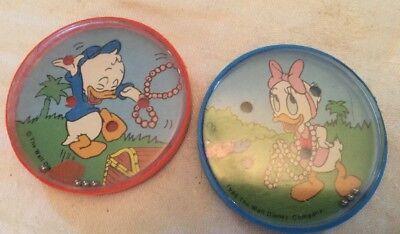Vintage Disney Donald Duck & Daisy Duck Party Favors PATIENCE PUZZLES